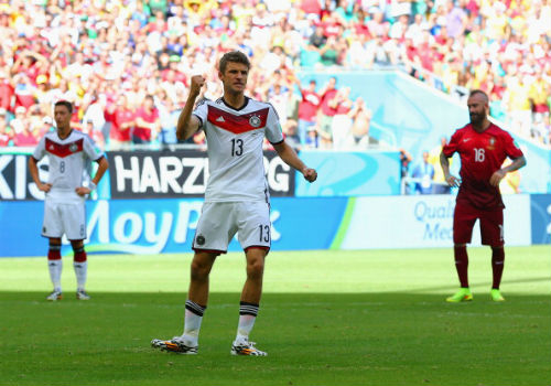 Томас Мюллер 3 - 0 Португалия