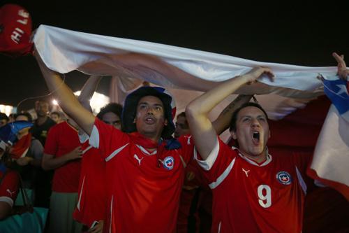 Фаны Чили: «Я упала с самосвала, тормозила головой»