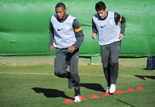 Луис Адриано и Илсиньо приступили к тренировкам