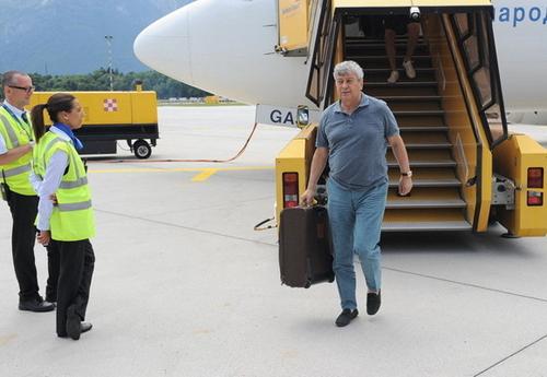 Шахтер прибыл на сборы в Австрию