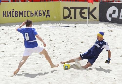Чемпионат Киева по пляжному футболу: расписание 3 тура