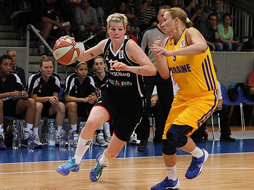 Женская сборная Украины вновь обыграла Германию