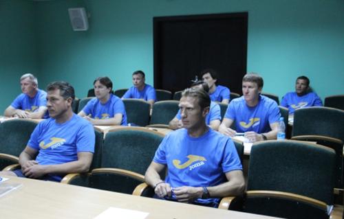 Шевченко, Йовичевич и Сачко приступили к обучению