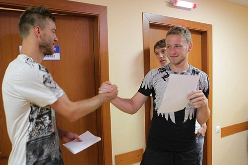 Игроки Динамо прошли медосмотр