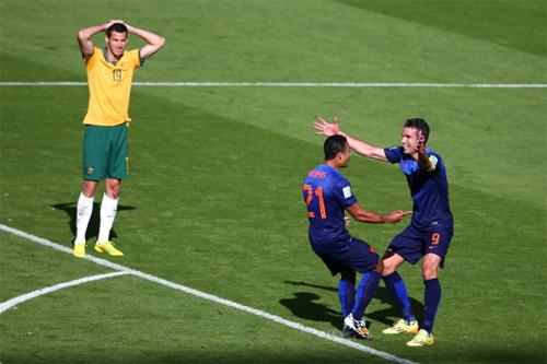 Австралия не дала Голландии расслабиться