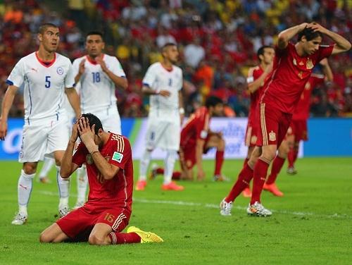 Испания с позором покидает чемпионат мира