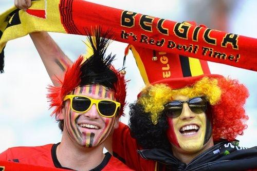 Открываем Бразилию вместе. Матч Бельгия - Россия