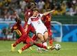 Гана сенсационно отбирает очки у Германии