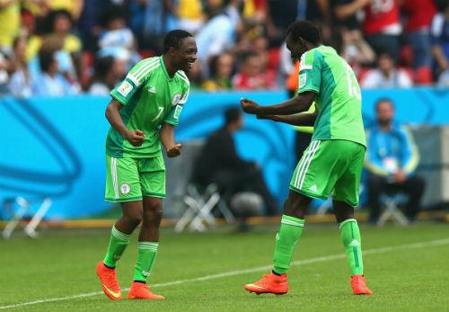 Футболисты сборной Нигерии получили премиальные
