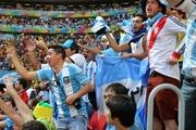 Как аргентинцы за свою сборную болели