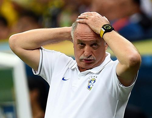 Очередной позор сборной Бразилии