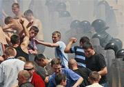 МВД: Присутствие милиционера на стадионе создает дискомфорт