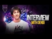 Интервью с Dendi после The International