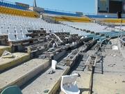 Луганский стадион Авангард подвергся минометному обстрелу