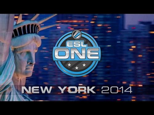 Анонсирован ESL One New York 2014