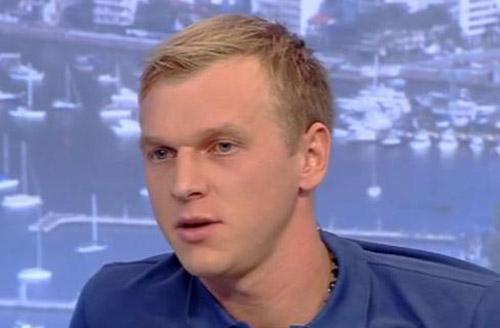 Сергей Погорелый тренируется с Днепром