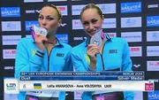 Украинские синхронистки выиграли серебро на ЧЕ