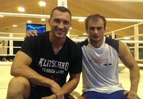 Владимир Кличко проводит спарринги с Яго Киладзе