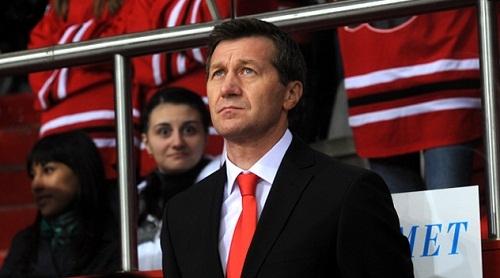 Чибирев стал ассистентом тренера сборной Украины по хоккею