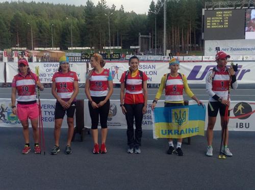 Валя Семеренко стала второй на ЧМ по летнему биатлону
