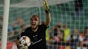 Защитник Лудогорца отразил два удара в серии пенальти