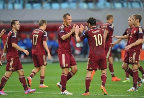 Россия громит Азербайджан в спарринге