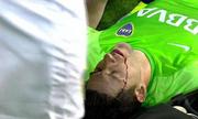 Вратаря Боки Хуниорс едва не убили во время матча