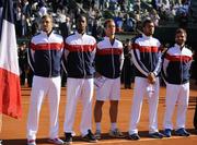 Французы стали первыми финалистами Кубка Дэвиса