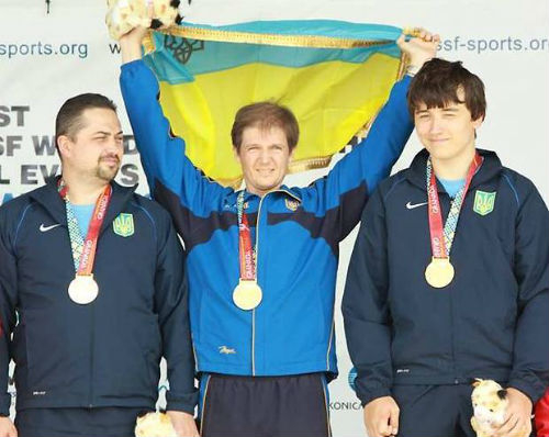 Мужская сборная Украины выиграла золото ЧМ по стрельбе