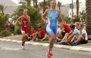 В триатлоне появились олимпийская надежда