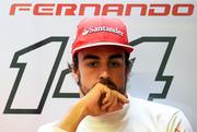 Фернандо Алонсо полагается на «Феррари»