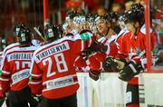 Донбасс уступает в домашнем матче Медвешчаку