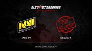 StarLadder X: Natus Vincere против Team Is Secret