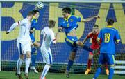 Юношеская сборная Украины уступила чехам