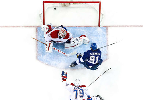 НХЛ. Тампа громит Монреаль. Матчи понедельника