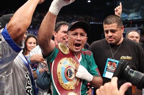 Орландо Салидо стал полновесным чемпионом мира WBO