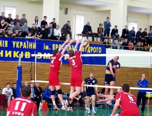 Харьковская Юракадемия - седьмой участник мужской Суперлиги