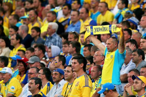 УЕФА рассмотрит поведение фанов на матче Беларусь - Украина