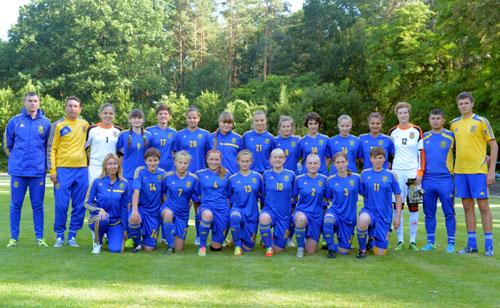 Сборная Украины WU-17 терпит разгром от команды Австрии
