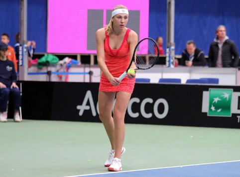 Надежда Киченок покидает турнир в Пуатье
