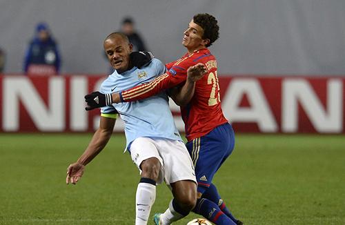 Манчестер Сити не удержал победу в Москве