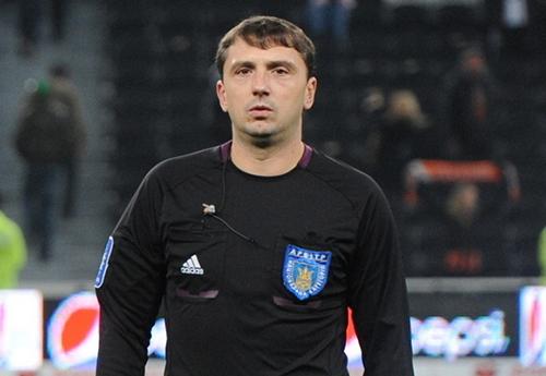 Сергей Даньковский - главный арбитр финала Кубка ХФЛ