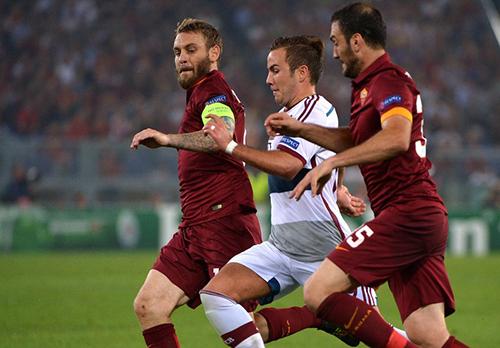 Группа Е. Бавария разорвала Рому на Стадио Олимпико