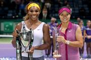 Серена Уильямс выиграла Итоговый турнир WTA