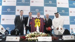 Официальным спонсором Барселоны стал банк из ОАЭ