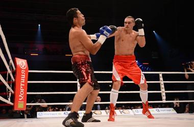 Узелкова и Усика поддержали больше семи тысяч зрителей
