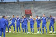 Молодежная сборная Украины прибыла в Швейцарию