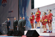 Пять наград и «золото» от Путина