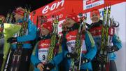 Сборная Украины выигрывает бронзу в дебютной гонке сезона!