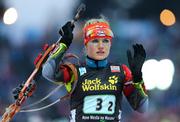 Соукалова выигрывает индивидуальную гонку в Эстерсунде